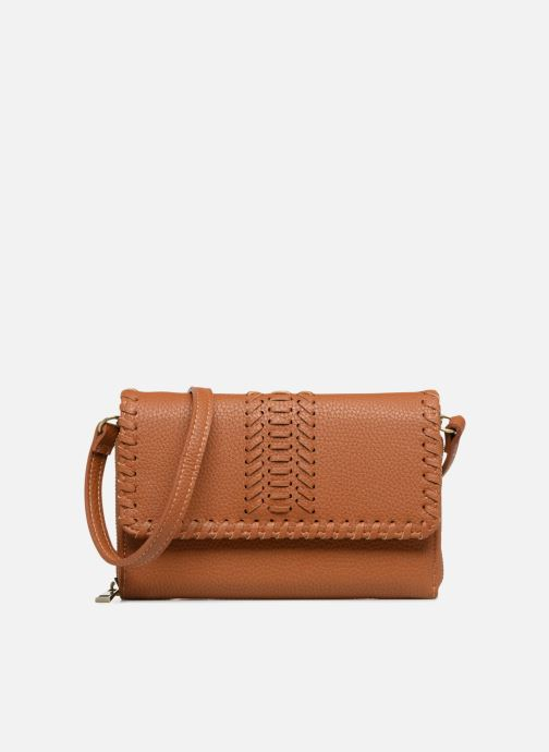 Handtassen Street Level Brown mini purse Bruin detail