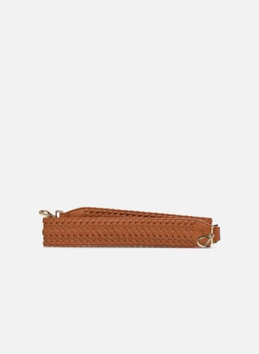 Latticed brown belt
