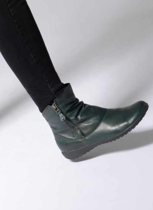 Ankle boots Josef Seibel Naly 24 Black view from underneath / model view