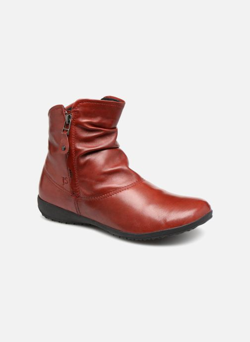 01b16647d7fb Josef Seibel Naly 24 (Red) - Ankle boots chez Sarenza (339485)