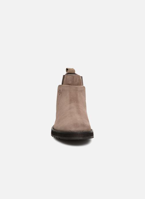 Bottines et boots P-L-D-M By Palladium Press Sud Gris vue portées chaussures