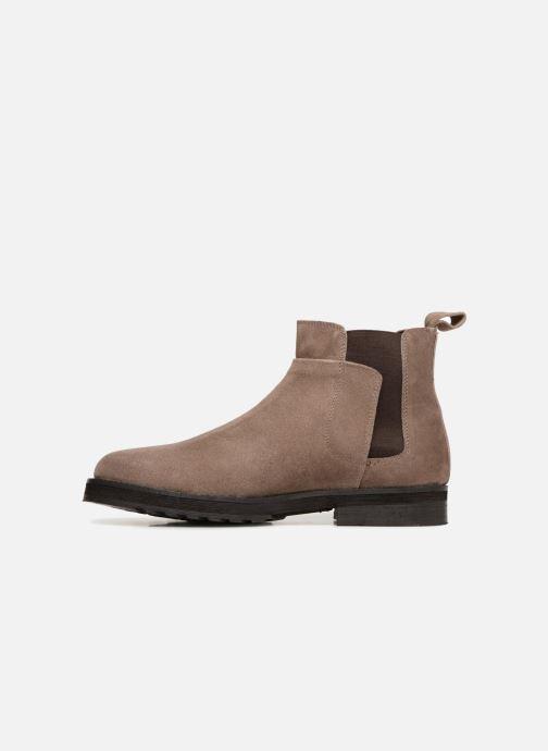 Boots en enkellaarsjes P-L-D-M By Palladium Press Sud Grijs voorkant