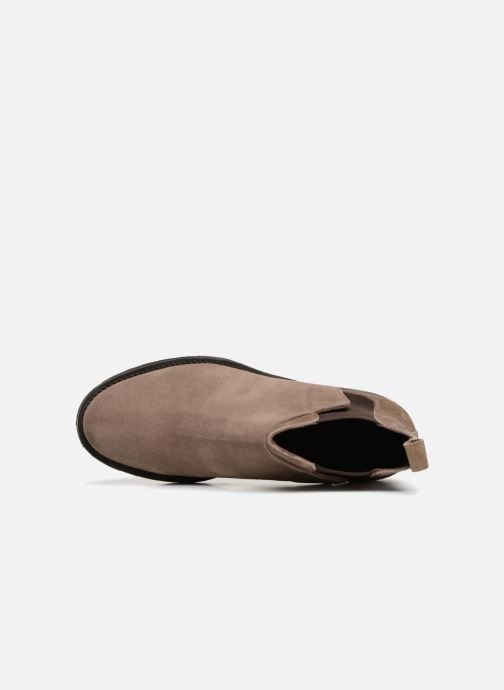Boots en enkellaarsjes P-L-D-M By Palladium Press Sud Grijs links