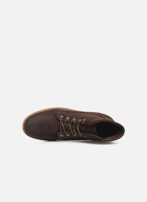 Bottines et boots P-L-D-M By Palladium Norco Qg Marron vue gauche