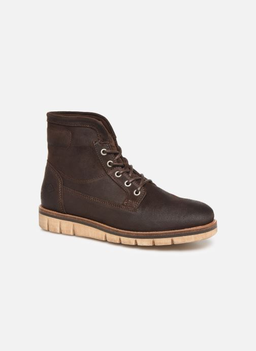 Bottines et boots P-L-D-M By Palladium Norco Qg Marron vue détail/paire