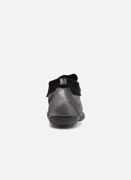 Sneaker P-L-D-M By Palladium Gaetane Crb silber ansicht von rechts