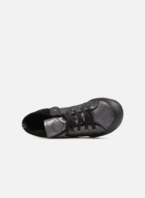 Sneaker P-L-D-M By Palladium Gaetane Crb silber ansicht von links