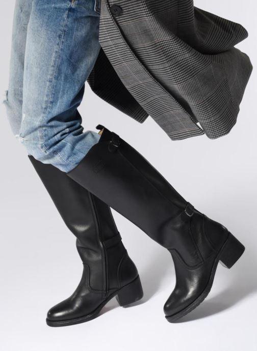 Stiefel P-L-D-M By Palladium Pano schwarz ansicht von unten / tasche getragen