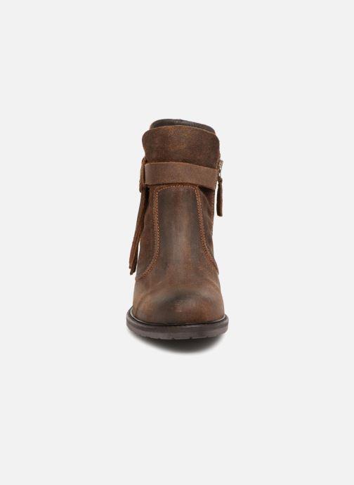 Bottines et boots P-L-D-M By Palladium Soria Crt Marron vue portées chaussures