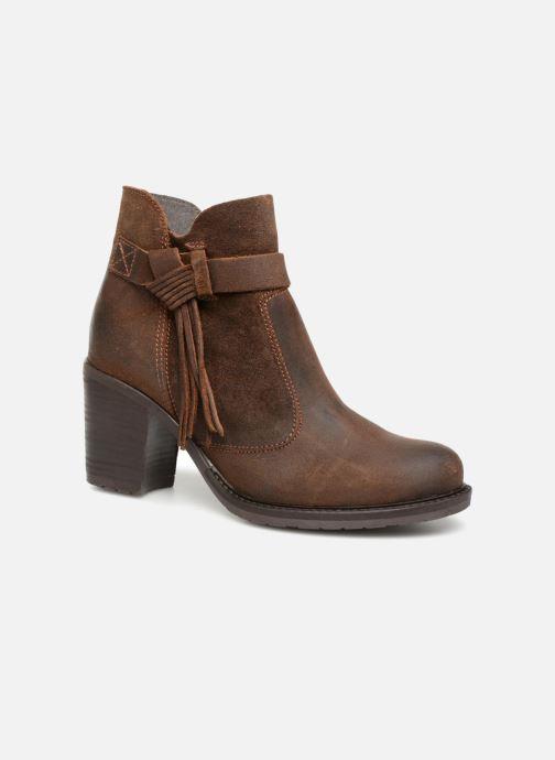 Bottines et boots P-L-D-M By Palladium Soria Crt Marron vue détail/paire
