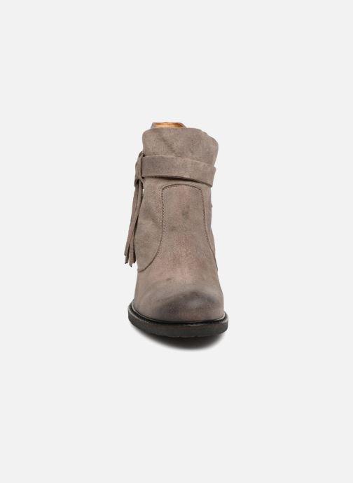Bottines et boots P-L-D-M By Palladium Soria Snt Gris vue portées chaussures