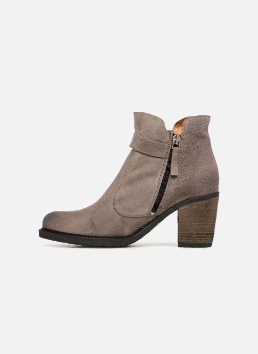 Bottines et boots P-L-D-M By Palladium Soria Snt Gris vue face