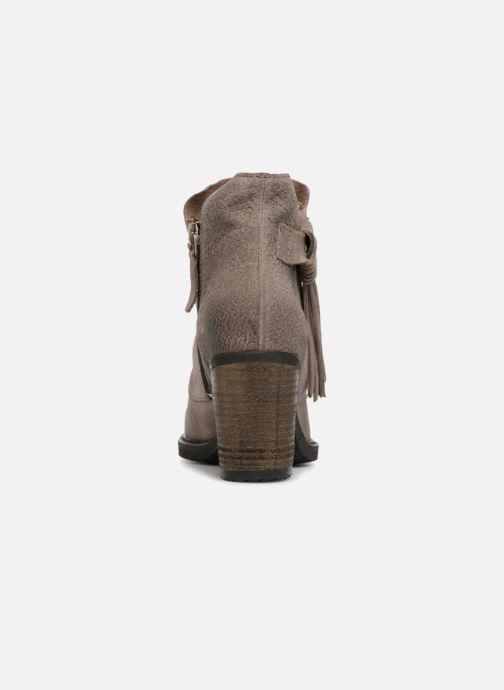 Bottines et boots P-L-D-M By Palladium Soria Snt Gris vue droite