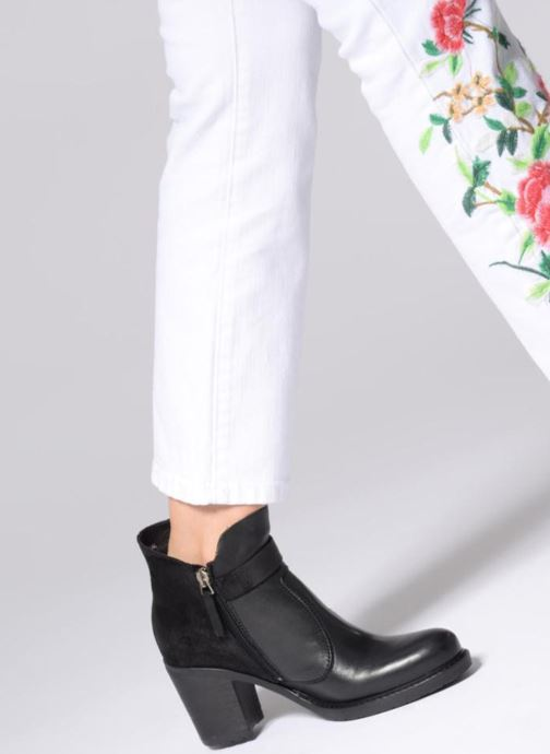 Bottines et boots P-L-D-M By Palladium Soria Mxco Noir vue bas / vue portée sac