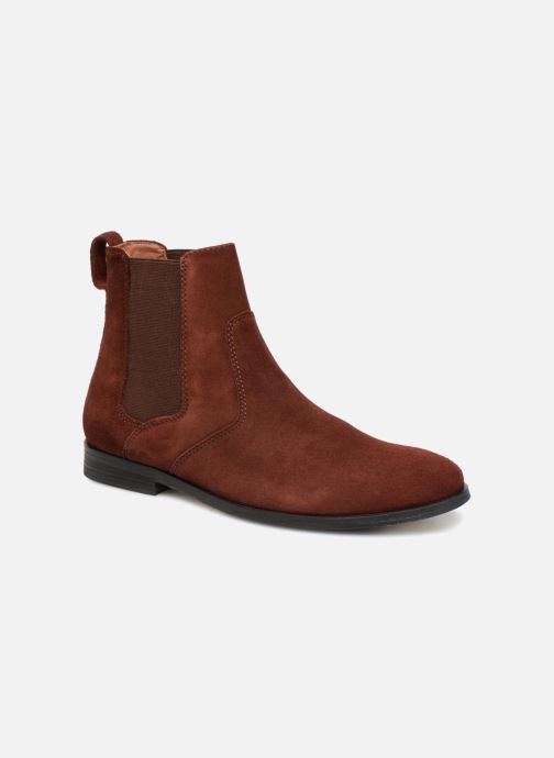 Ankle boots P-L-D-M By Palladium Preston Sud Burgundy detailed view/ Pair view
