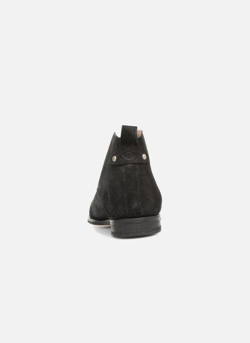 Zapatos con cordones P-L-D-M By Palladium Portobello Sph Negro vista lateral derecha
