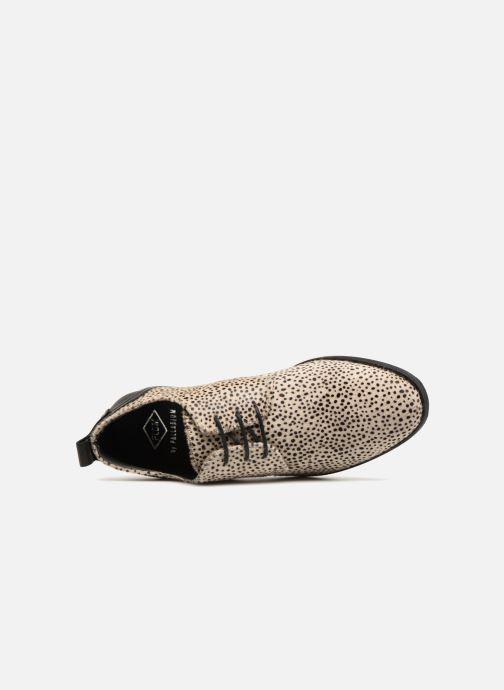 Chaussures à lacets P-L-D-M By Palladium Picadilly Fnt Blanc vue gauche