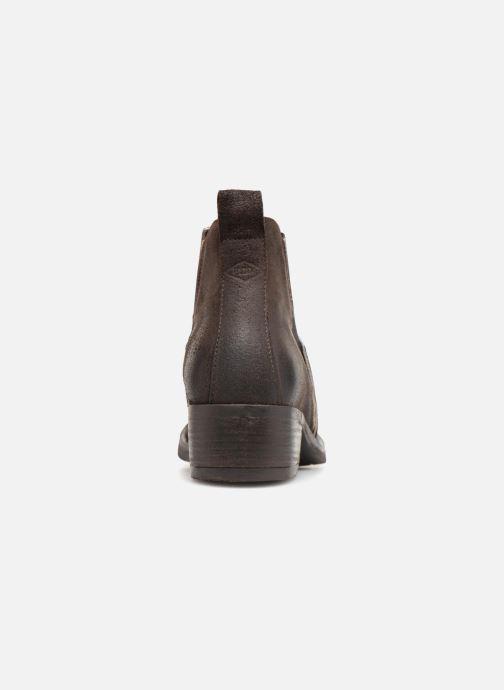 Boots en enkellaarsjes P-L-D-M By Palladium Riema Crt Bruin rechts