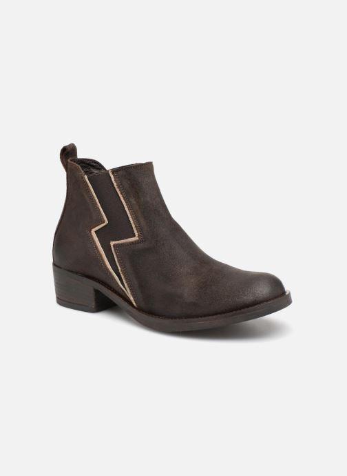 Bottines et boots P-L-D-M By Palladium Riema Crt Marron vue détail/paire