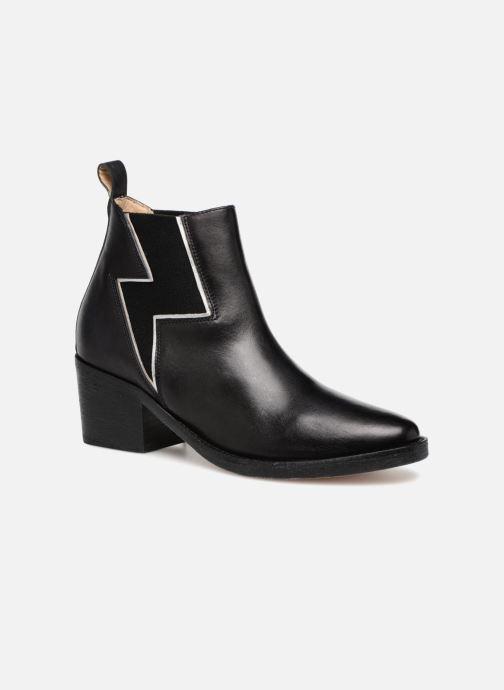 Ankelstøvler P-L-D-M By Palladium Priema Sort detaljeret billede af skoene