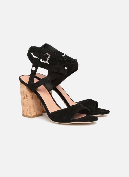 Sandales et nu-pieds Sigerson Morrison PAULINA2 Noir vue 3/4