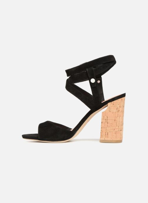 Sandales et nu-pieds Sigerson Morrison PAULINA2 Noir vue face