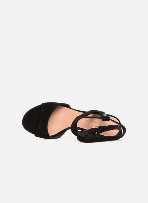 Sandales et nu-pieds Sigerson Morrison PAULINA2 Noir vue gauche