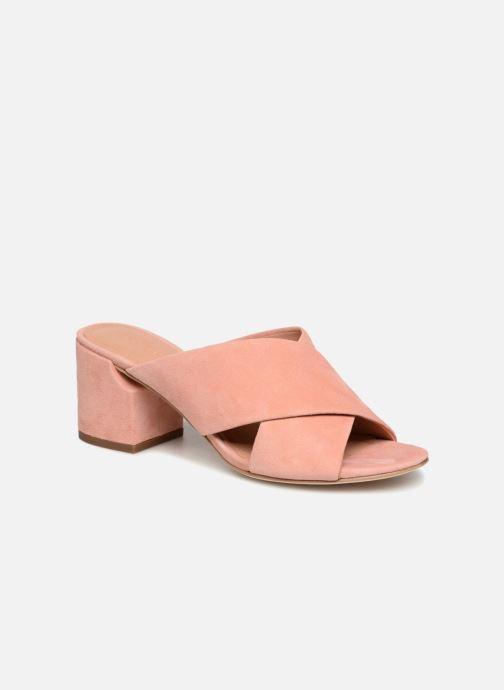 Clogs og træsko Sigerson Morrison RHODA Pink detaljeret billede af skoene