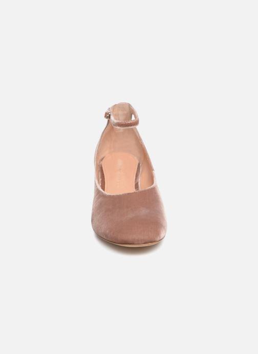 Ballerines Sigerson Morrison KAIROS Rose vue portées chaussures