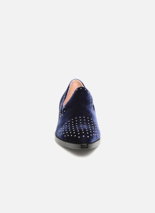 Mocassins Sigerson Morrison EDNA Bleu vue portées chaussures