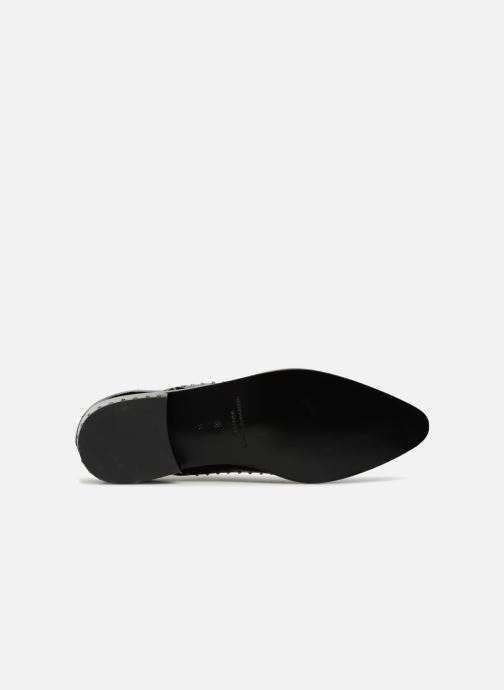Chaussures à lacets Sigerson Morrison ELINOR Noir vue haut