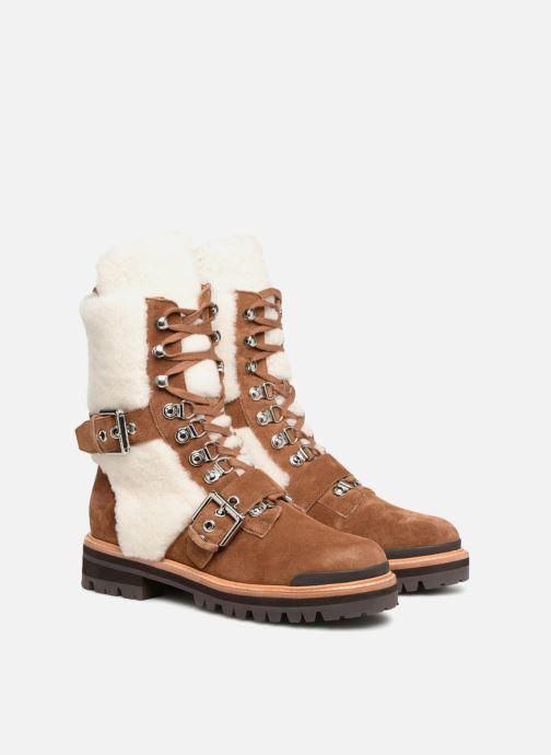 Bottines et boots Sigerson Morrison IRIS Marron vue 3/4