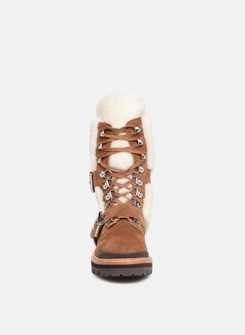 Bottines et boots Sigerson Morrison IRIS Marron vue portées chaussures