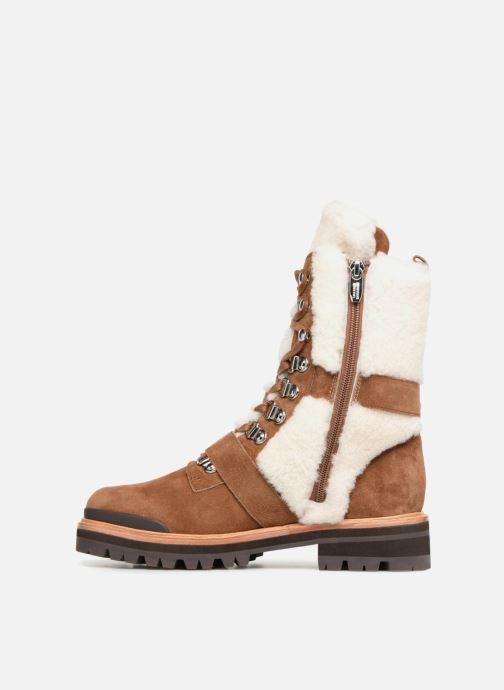 Bottines et boots Sigerson Morrison IRIS Marron vue face