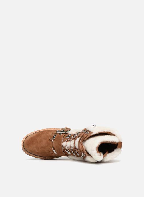 Bottines et boots Sigerson Morrison IRIS Marron vue gauche