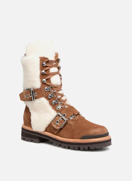 Bottines et boots Sigerson Morrison IRIS Marron vue détail/paire