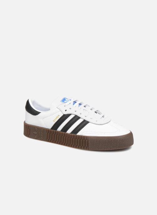 Deportivas adidas originals Sambarose W Blanco vista de detalle / par