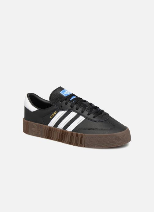 Trainers Adidas Originals Sambarose W Black detailed view/ Pair view