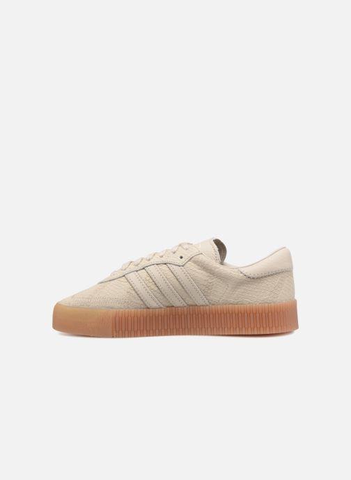 Sneaker Adidas Originals Sambarose W beige ansicht von vorne