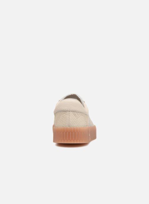 Sneaker Adidas Originals Sambarose W beige ansicht von rechts