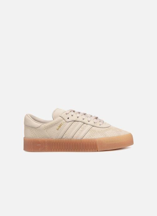 Sneaker Adidas Originals Sambarose W beige ansicht von hinten