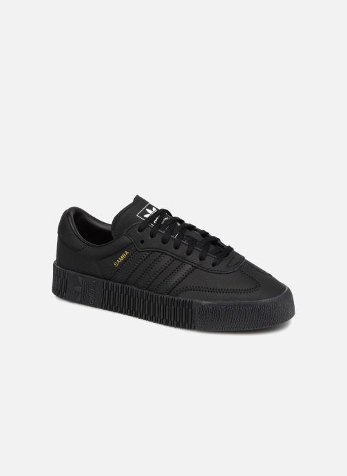 Baskets Adidas Originals Sambarose W Noir vue détail/paire
