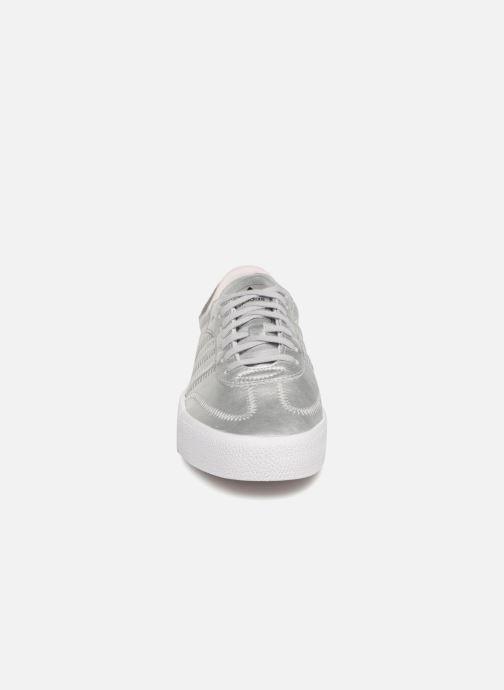 Baskets adidas originals Sambarose W Gris vue portées chaussures