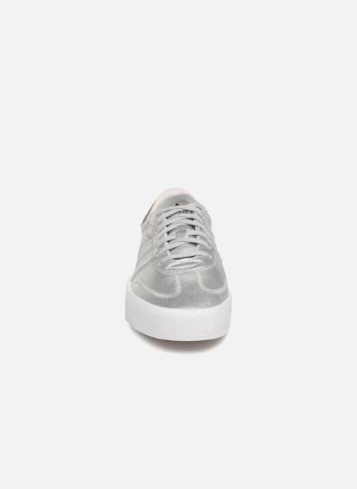 Sneaker Adidas Originals Sambarose W grau schuhe getragen