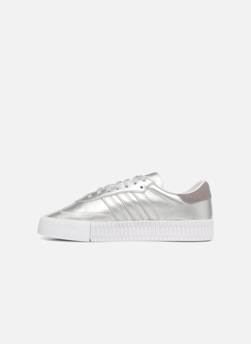 Baskets Adidas Originals Sambarose W Gris vue face