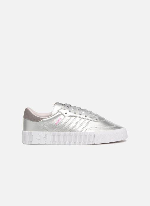 Sneaker Adidas Originals Sambarose W grau ansicht von hinten