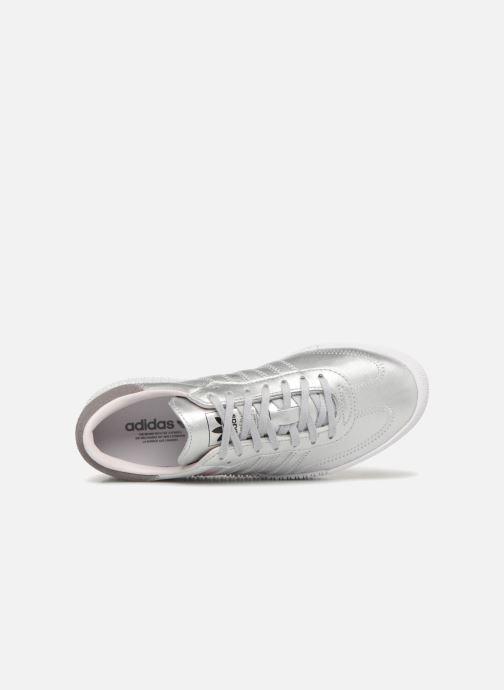 Baskets adidas originals Sambarose W Gris vue gauche