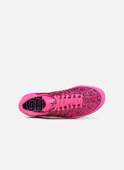 Baskets adidas originals Sambarose W Rose vue gauche