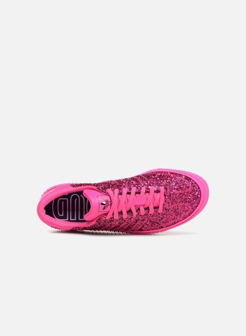 Baskets adidas originals Sambarose W Rose vue gauche