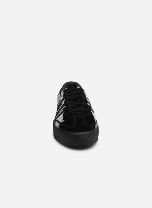 Sneaker adidas originals Sambarose W schwarz schuhe getragen